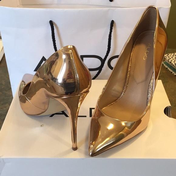 16340888629c Aldo Shoes - Rose gold Aldo heels